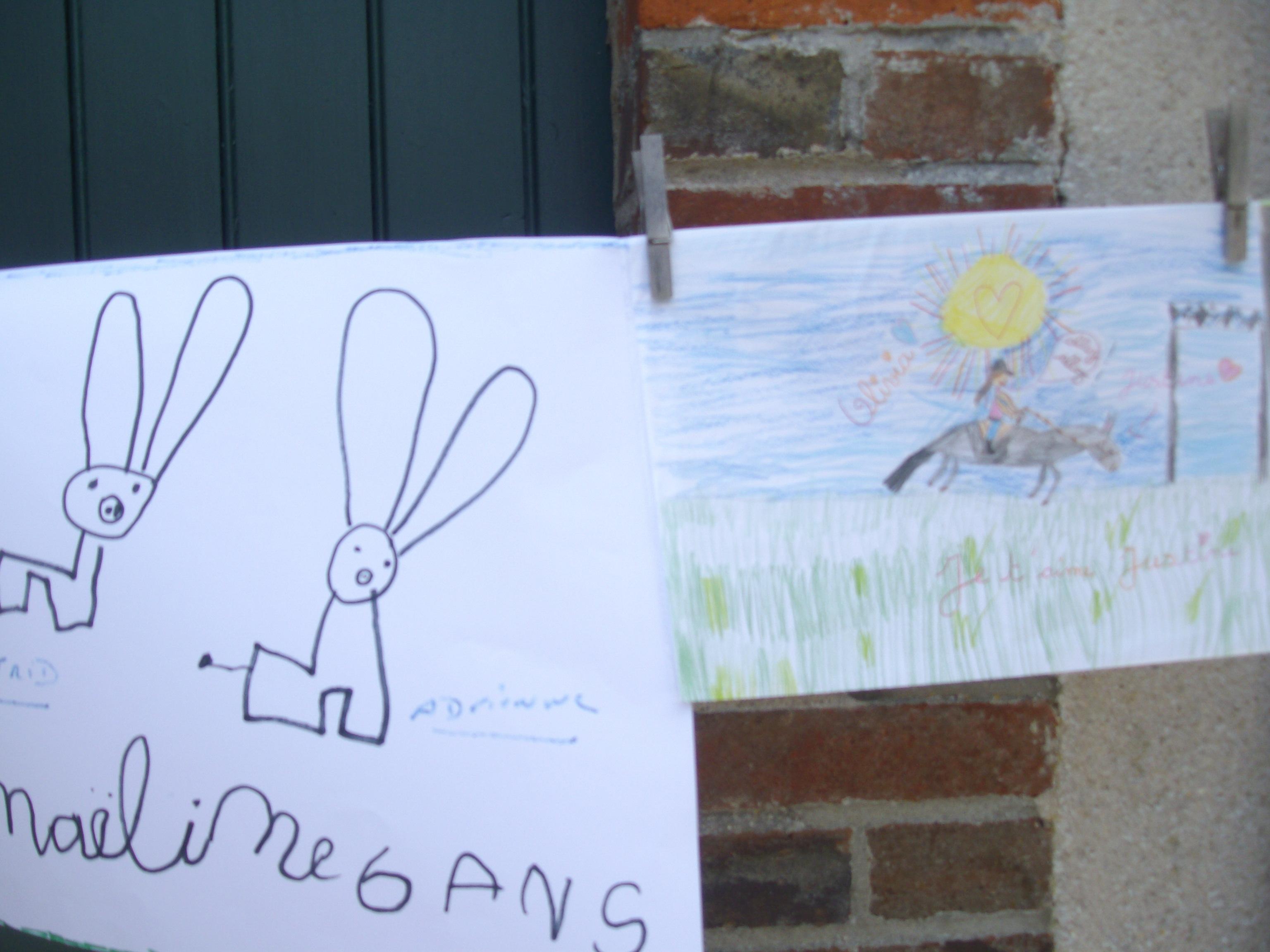 Arts les nes de marolles page 7 for Porte ouverte dessin