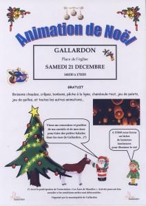 21 décembre à Gallardon