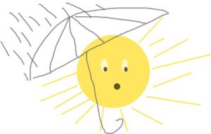 âne pluie 5